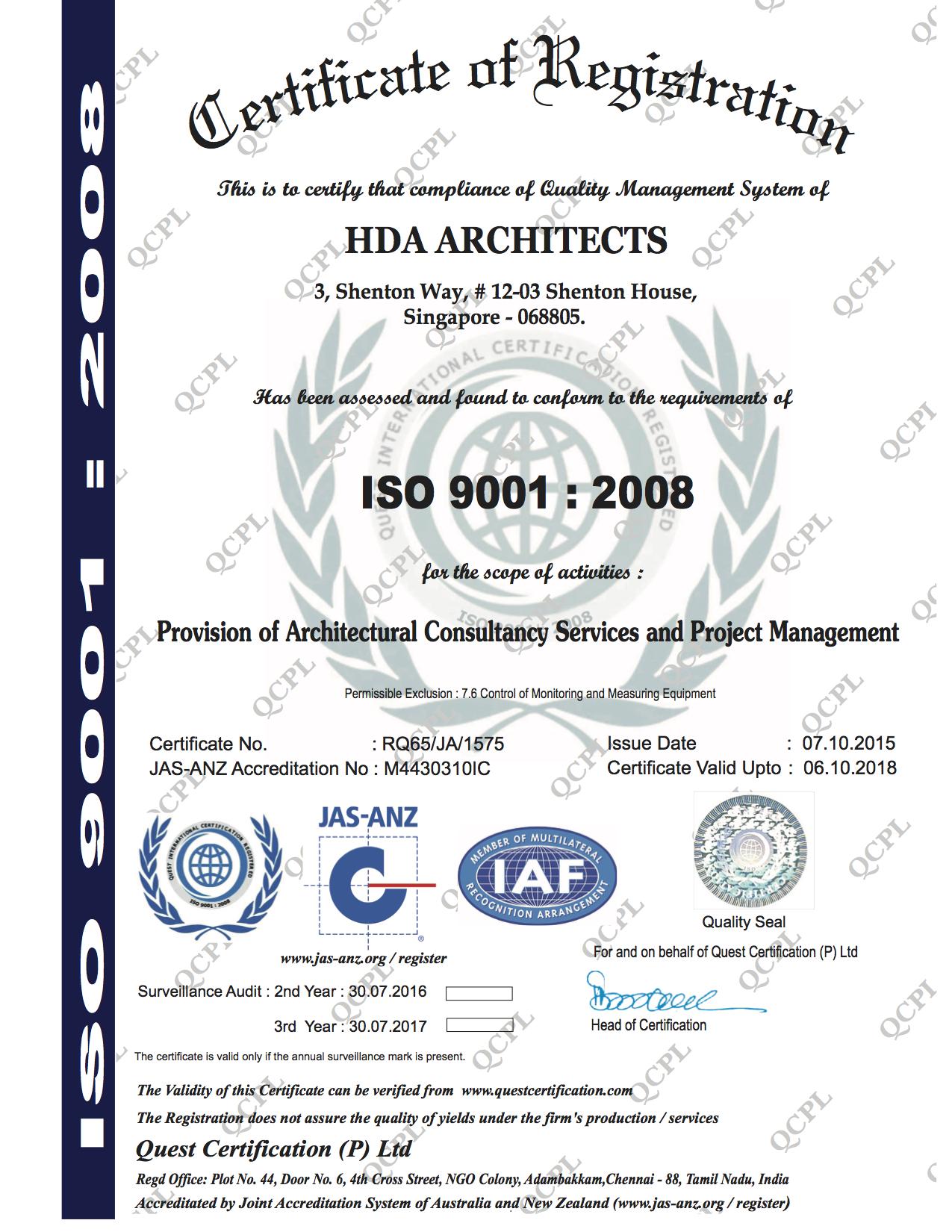 Hda company profile for Hda design